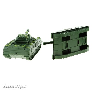 5Pieces Military Tank Model 12cm for Sand Table Armor Decoration Kids Toys