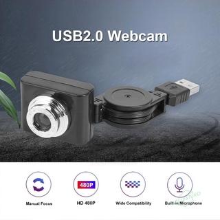 Webcam Kẹp Để Bàn Có Mic Cho Máy Tính