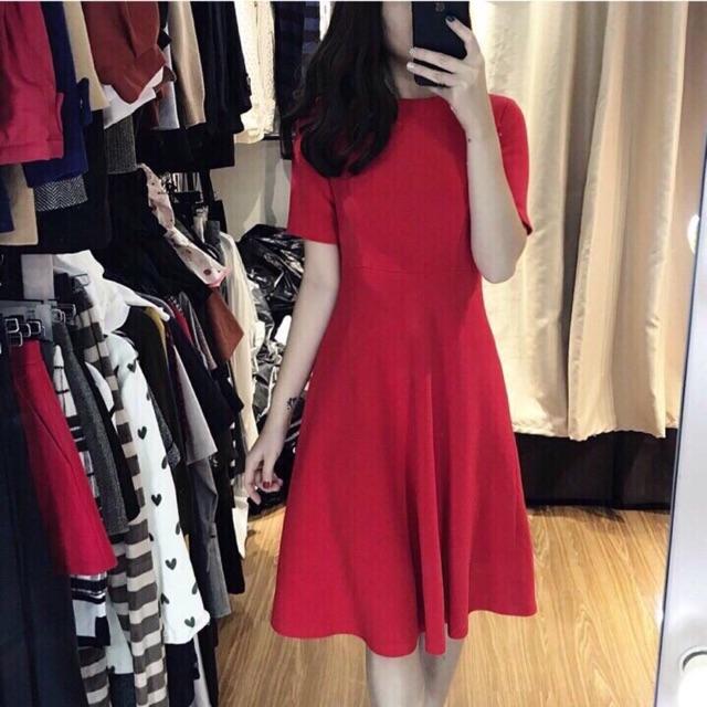 Đầm xoè MNG đỏ tươi tôn da tôn dáng cực trẻ trung - 2716304 , 803101050 , 322_803101050 , 350000 , Dam-xoe-MNG-do-tuoi-ton-da-ton-dang-cuc-tre-trung-322_803101050 , shopee.vn , Đầm xoè MNG đỏ tươi tôn da tôn dáng cực trẻ trung