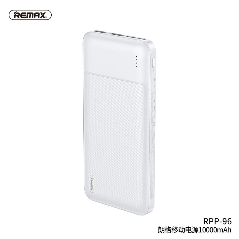 Bộ Sạc Dự Phòng Remax Rpp-96 10000mah 2.1a 100%