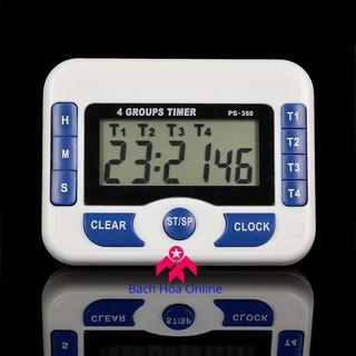 Đồng hồ điện tử bấm giờ đếm ngược PS-360 4in1