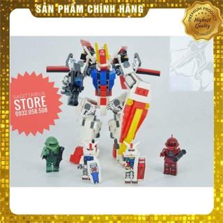 [Hot] Combo 4 Hộp Lego MG3015 Lắp Ráp Robot StrikeGundam ( 455 Mảnh ) [ Có Sẵn ]