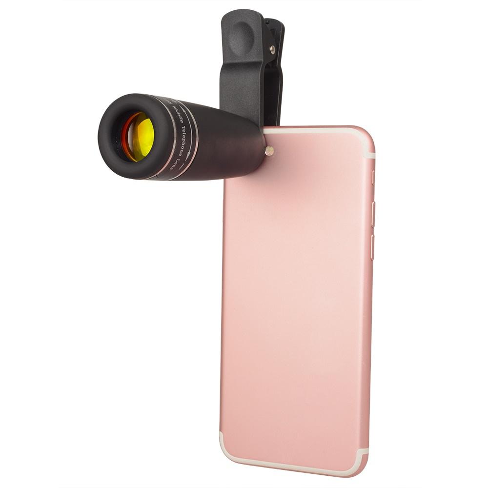 APEXEL 10x Zoom Monocular Binoculars Telescope Optical Lens Mobile Phone Lens For Huawei/Iphone/Xiaomi Tourism Camping Tool【hy】
