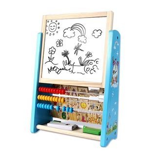 Đồ chơi gỗ bảng vẽ bảng chữ cái số bàn tính đa năng