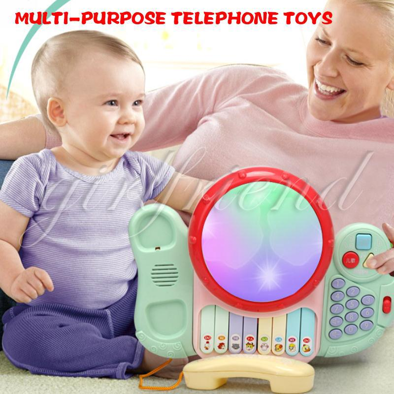 Patted Drum Telephone Multifunction Drum Interaction Hand Clap