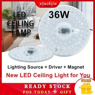 Đèn LED Đèn trần tròn Đèn nam châm Phòng khách Phòng ngủ Đèn chiếu sáng trong nhà Bóng đèn Đèn trần Mô-đun ánh sáng AC 220V