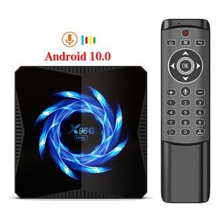 Tv Box Akaso X96q Max Android 10 Allwinner H616 4gb 32gb 64gb 2.4g 5g Wifi Bluetooth 4k