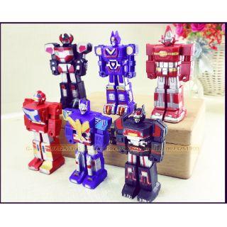 Bộ 6 mô hình robot siêu nhân (131)