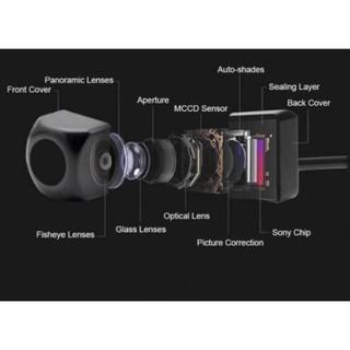 Camera lùi Sony AHD 1080 Inox chống nước ống kính góc rộng- Hàng cao cấp siêu nét