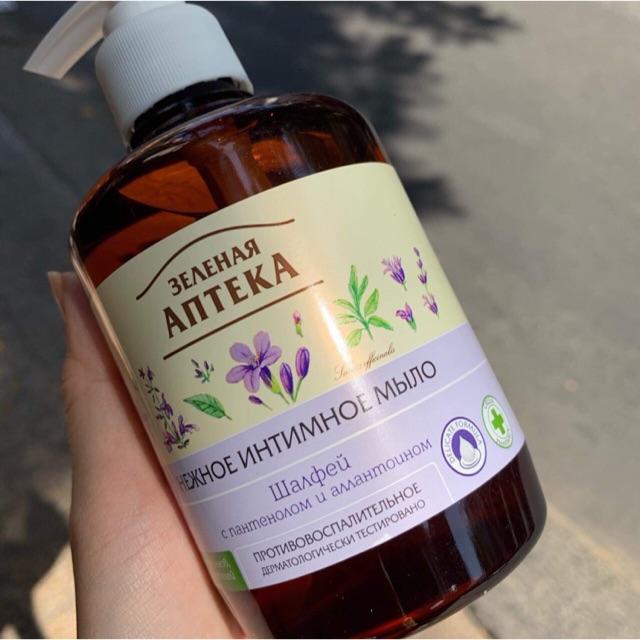 Dung dịch vệ sinh phụ nữ dạng gel Pharmacy Nga - Dung dịch vệ sinh Anteka Apteka