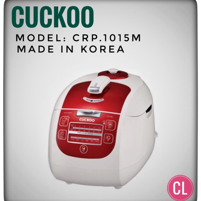 Hàng chính hãng - Nồi cơm điện tử Cuckoo CRP-G1015M - 3301430 , 606408280 , 322_606408280 , 3100000 , Hang-chinh-hang-Noi-com-dien-tu-Cuckoo-CRP-G1015M-322_606408280 , shopee.vn , Hàng chính hãng - Nồi cơm điện tử Cuckoo CRP-G1015M