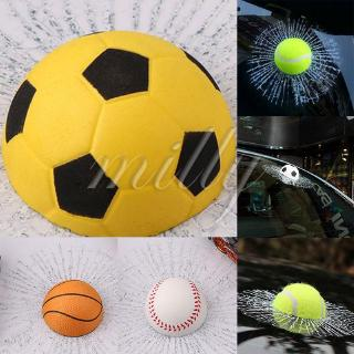 3D Car Sticker Simulation Tennis Ball Creative Door Glass Stickers Decors