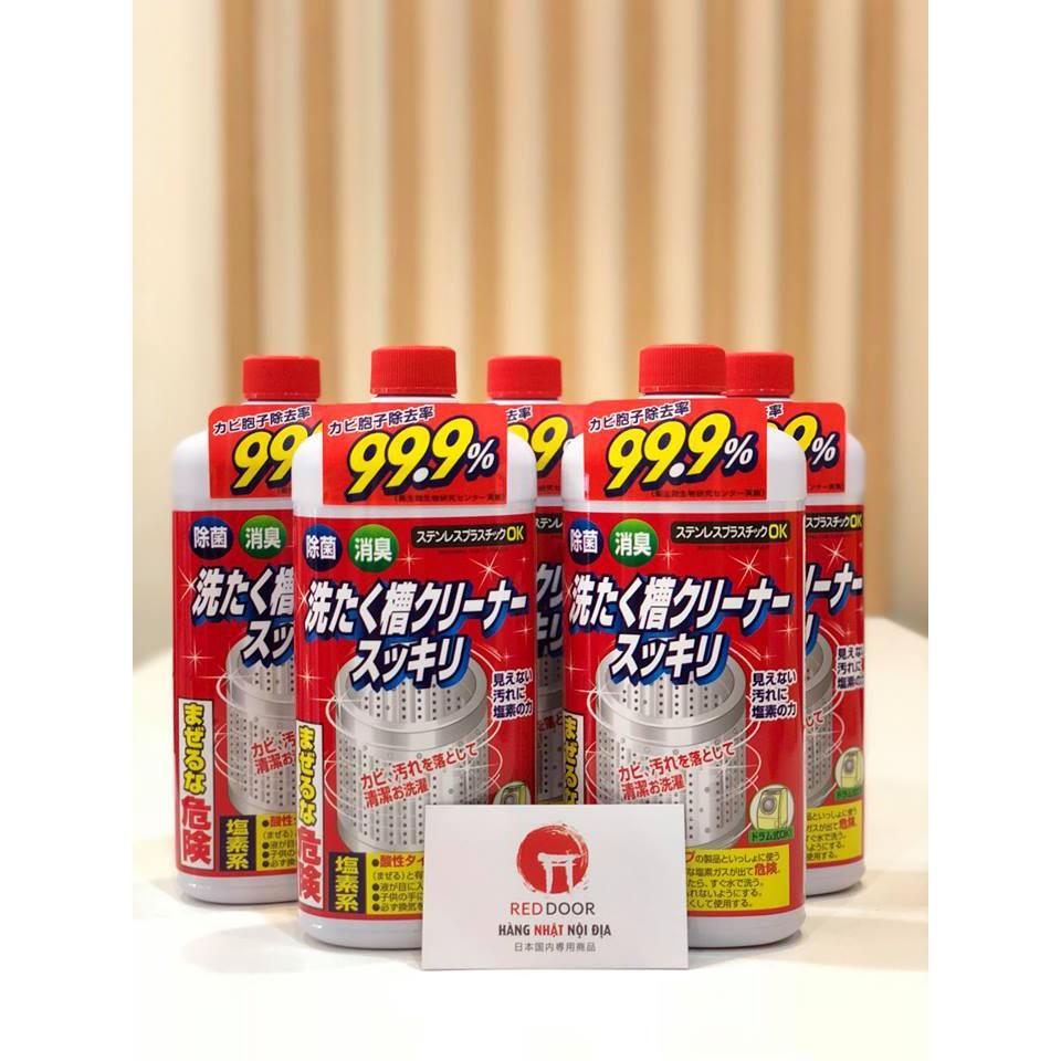 Nước tẩy vệ sinh lồng máy giặt Rocket 99,9% - Nhật bản - 23026107 , 1591744396 , 322_1591744396 , 45000 , Nuoc-tay-ve-sinh-long-may-giat-Rocket-999Phan-Tram-Nhat-ban-322_1591744396 , shopee.vn , Nước tẩy vệ sinh lồng máy giặt Rocket 99,9% - Nhật bản