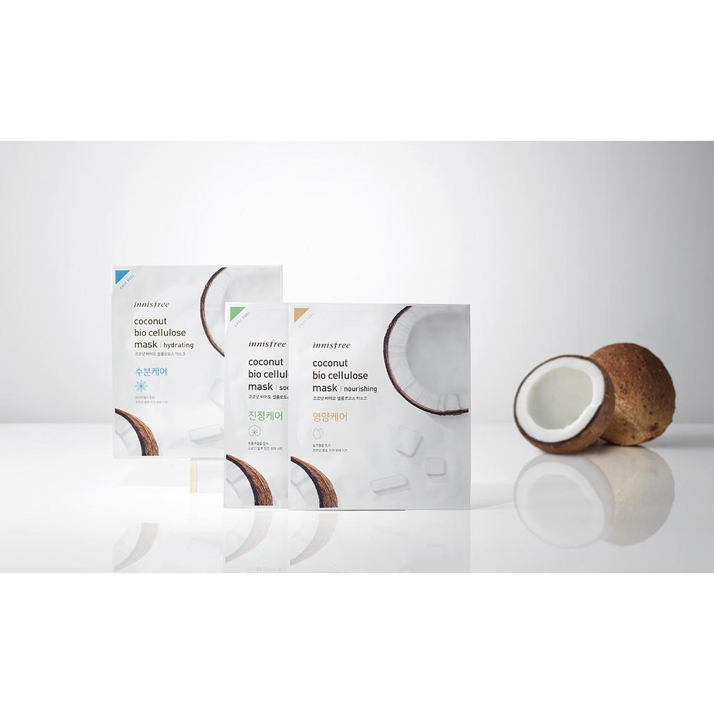 Kết quả hình ảnh cho Coconut bio cellulose mask