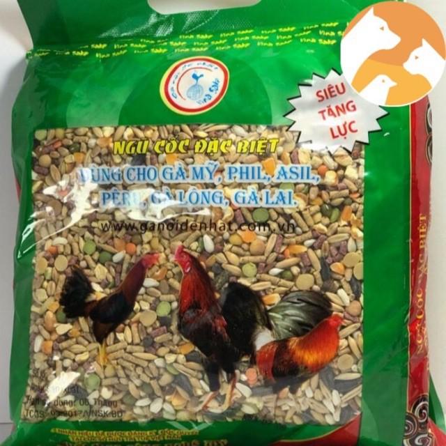 Cám Thức ăn gà đá ngũ cốc đặc biệt