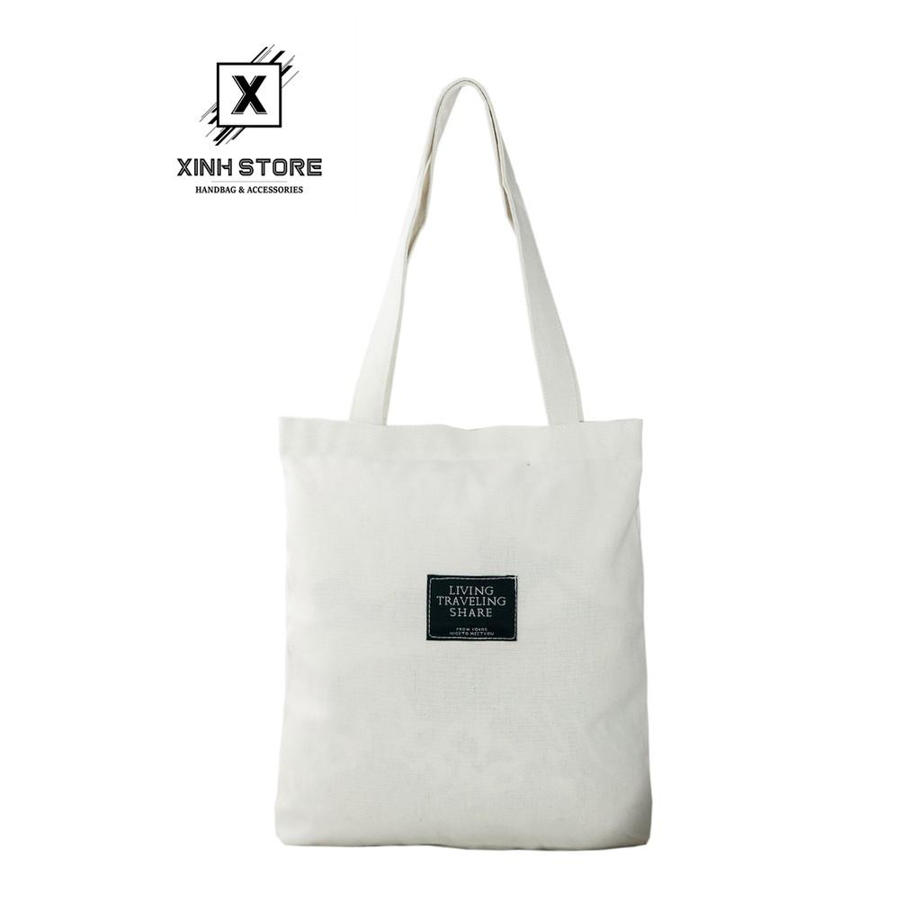Túi Vải Tote Living Đeo Vai XinhStore