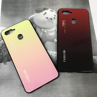 Oppo A7 | Ốp lưng kính | Glass Case Fashion
