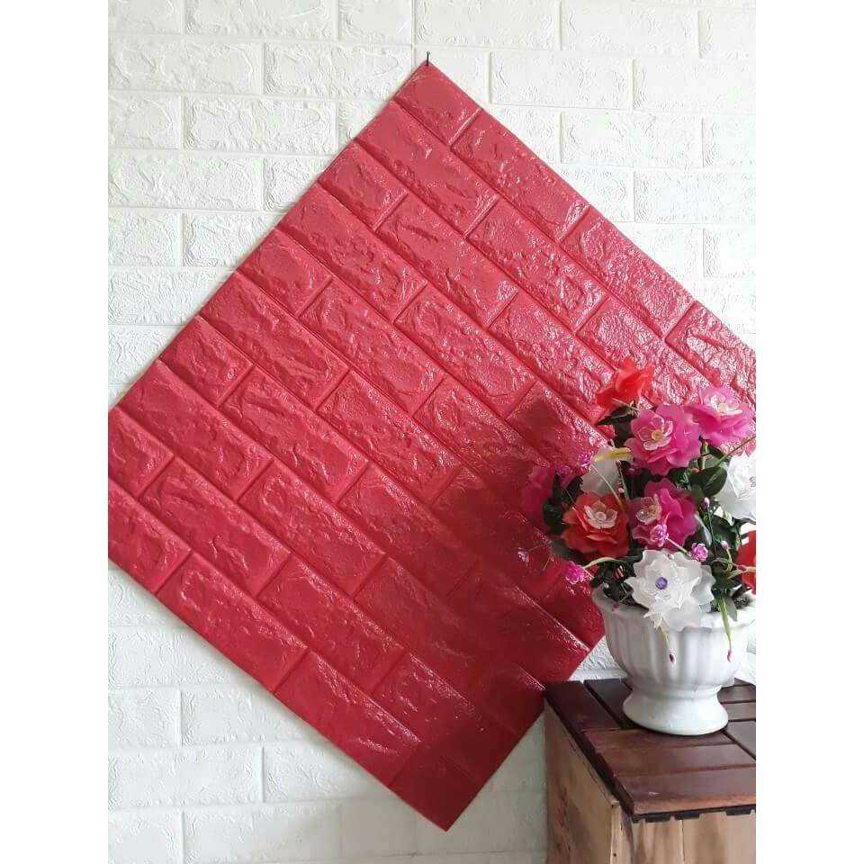 Xốp dán tường 3d giả gạch màu đỏ 37k - 3519241 , 876390439 , 322_876390439 , 37000 , Xop-dan-tuong-3d-gia-gach-mau-do-37k-322_876390439 , shopee.vn , Xốp dán tường 3d giả gạch màu đỏ 37k