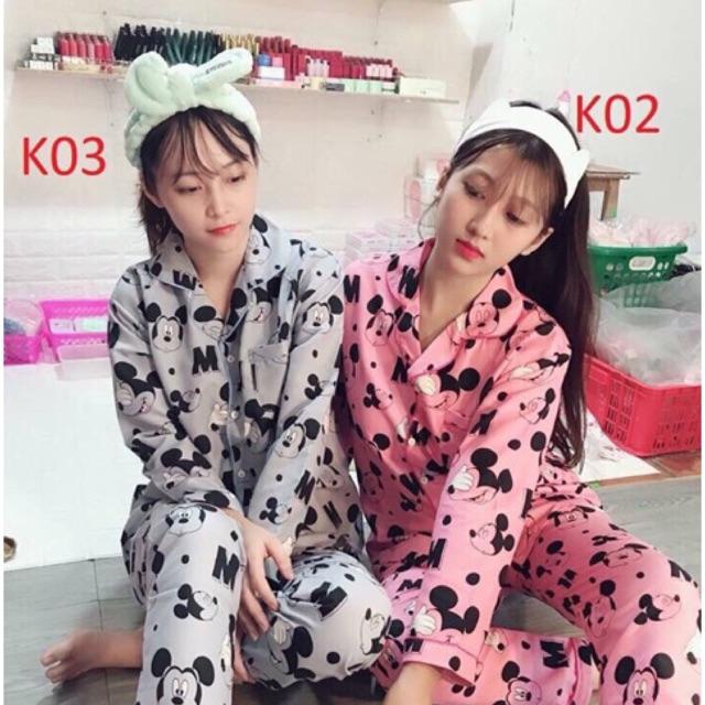 [Mã WASEPRN hoàn 20% xu đơn 99k] Bộ ngủ pijama tay dài quần dài