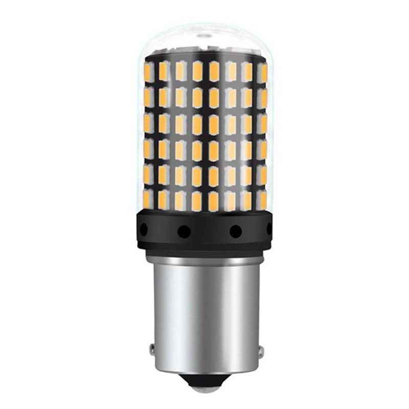 Lamp Super Bright 2pcs Turn Light Car 1156 Signal 3014 144smd vNnOm80w