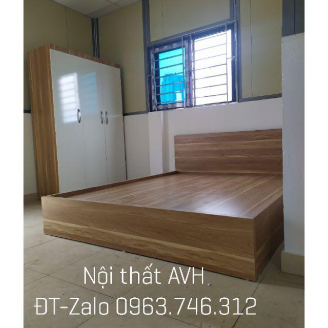 [FLASH SALE] Combo giường tủ gỗ công nghiệp loại đẹp