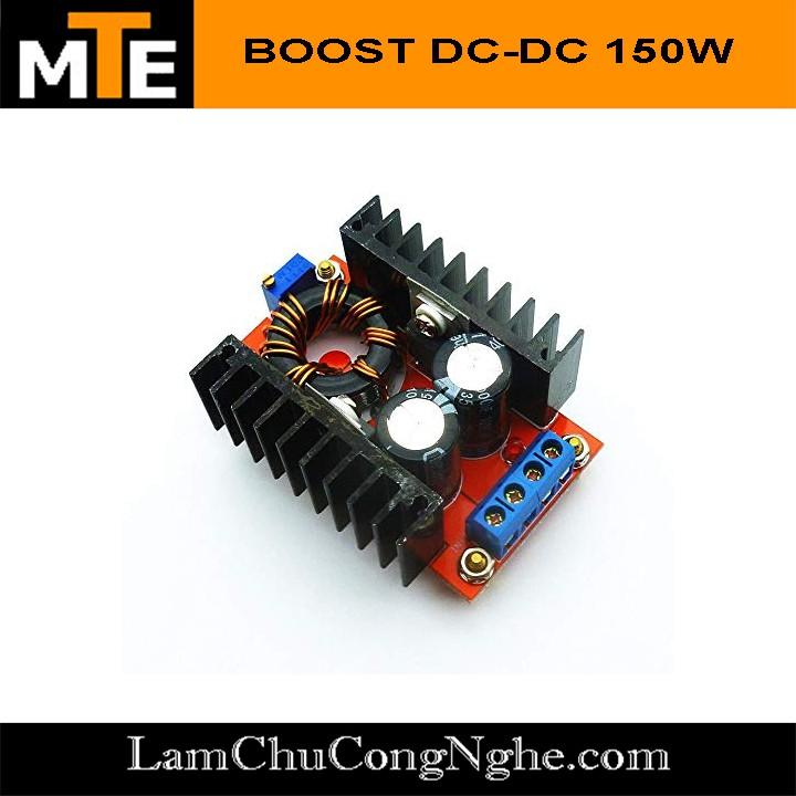 Mạch tăng áp DC 150W 10 - 32v to 12 - 35v có thể sạc laptop từ acquy - Module Boost - 15311096 , 1248107666 , 322_1248107666 , 55000 , Mach-tang-ap-DC-150W-10-32v-to-12-35v-co-the-sac-laptop-tu-acquy-Module-Boost-322_1248107666 , shopee.vn , Mạch tăng áp DC 150W 10 - 32v to 12 - 35v có thể sạc laptop từ acquy - Module Boost