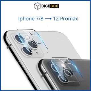 Kính cường lực bảo vệ Camera Iphone 11/11Pro/11 Pro max/12/12 Pro/12 Pro Max X Xs Xsmax 7 plus 8 plus
