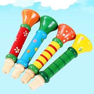 Kèn gỗ đồ chơi cho bé – Ngỗ nghĩnh nhiều màu sắc