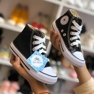 Giày vải cao cổ buộc dây trẻ em  👣FREESHIP👣 Giày Vải Cao Cấp OPOEE Cổ Cao Cho Bé Trai và Bé Gái Từ 1-14 tuổi