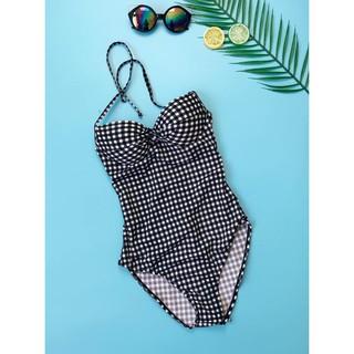 [SUMMER]Bikini liền thân chấm bi