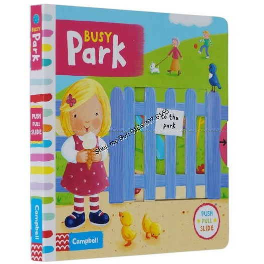 BUSY PARK - Busy book