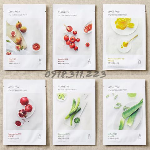 (Auth - Mẫu mới) MẶT NẠ MIẾNG GIẤY INNISFREE ITS REAL SQUEEZE MASK - 3071605 , 367833588 , 322_367833588 , 28000 , Auth-Mau-moi-MAT-NA-MIENG-GIAY-INNISFREE-ITS-REAL-SQUEEZE-MASK-322_367833588 , shopee.vn , (Auth - Mẫu mới) MẶT NẠ MIẾNG GIẤY INNISFREE ITS REAL SQUEEZE MASK