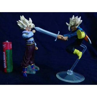 CHÍNH HÃNG Set Mô hình Goku & Trunks chém kiếm Dragon Ball