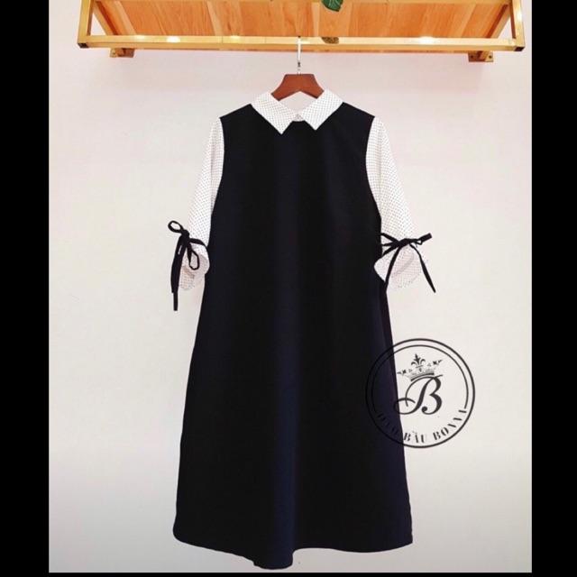 Váy bầu thiết kế thu đông MT12