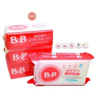 Xà phòng giặt kháng khuẩn dành cho bé B&B 100gr, lốc 3 cái thumbnail