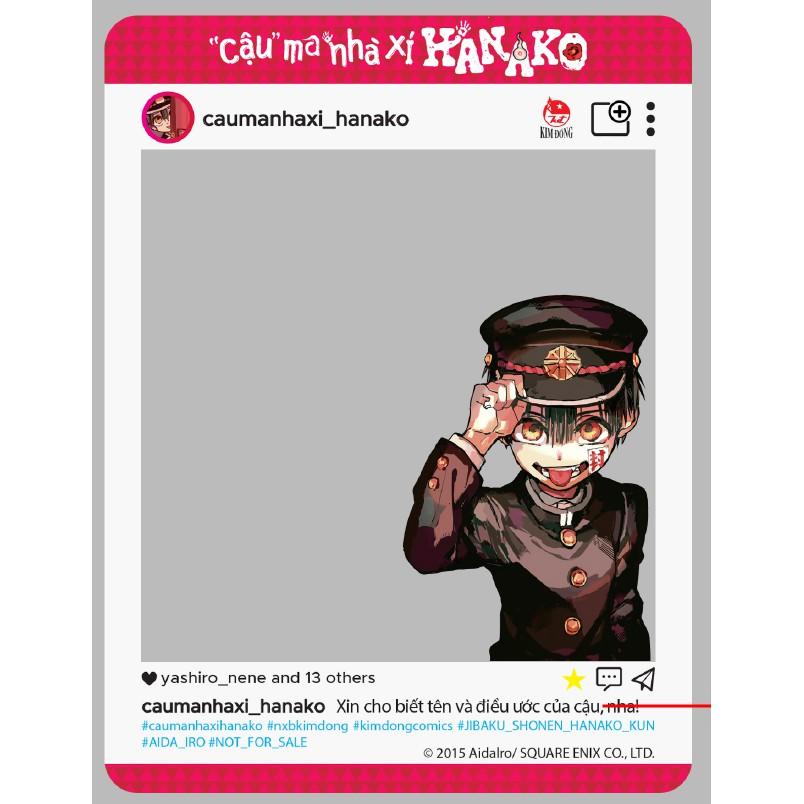 Hanako Cậu ma nhà xí 2 – Nguyên seal kèm card