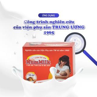 [Viện sản Trung Ương] Cốm lợi sữa MumMilk + Yến sào. Tuôn trào & Đặc sánh sau 3 ngày sử dụng. Hộp 20 gói x 3g thumbnail