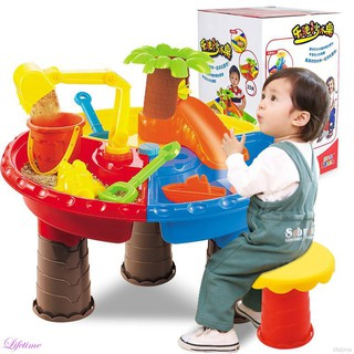 Kids Outdoor Sand and Water Table Play Set Toys New Beach Sandpit Summer Toys