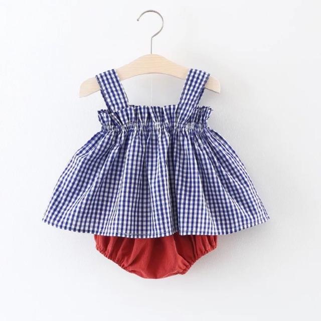 Bộ áo 2 dây quần chip cho bé gái - 2872137 , 1038278679 , 322_1038278679 , 120000 , Bo-ao-2-day-quan-chip-cho-be-gai-322_1038278679 , shopee.vn , Bộ áo 2 dây quần chip cho bé gái