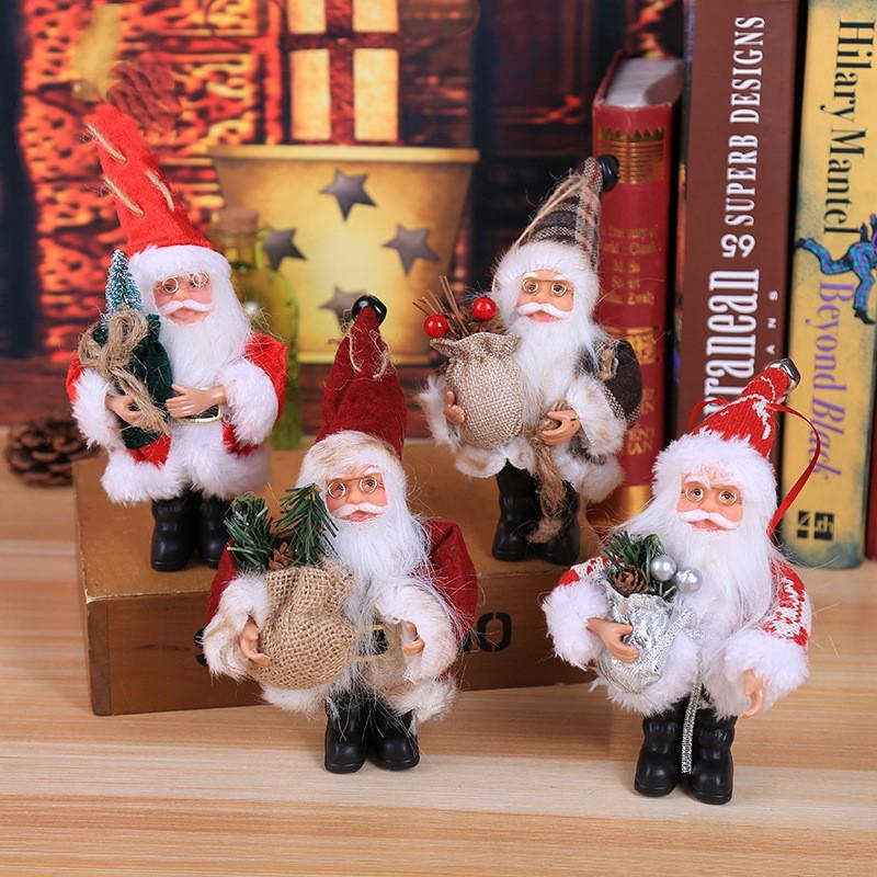 Ông Già Noel Nhồi Bông Trang Trí Giáng Sinh