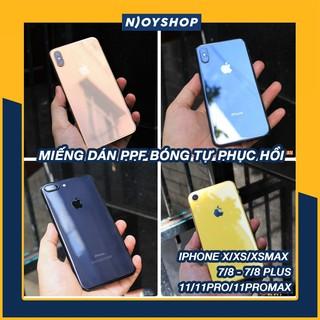 [KEO DÍNH 100%] DÁN PPF IPHONE MẶT SAU LẤP LÁNH IPHONE 7 8 7 PLUS 8 PLUS X XS XSMAX XR 11 PRO MAX thumbnail