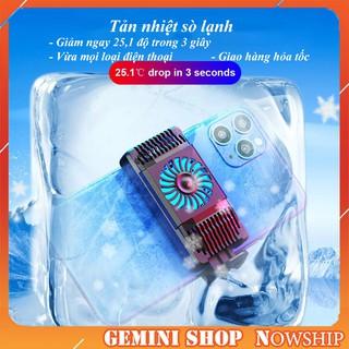 Quạt tản nhiệt điện thoại AH101 tản nhiệt sò lạnh giảm ngay 50 độ chơi game PUBG, Liên Quân làm mát nhanh nhỏ gọn thumbnail