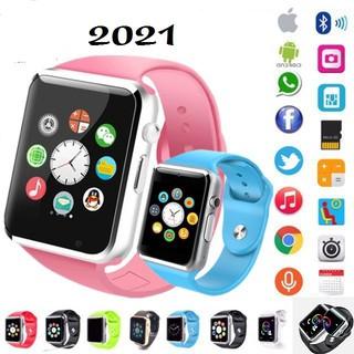 [Mã ELFLASH5 giảm 20K đơn 50K] Đồng hồ thông minh trẻ em A1 2021- Lắp sim nghe gọi bảo hành 12 tháng