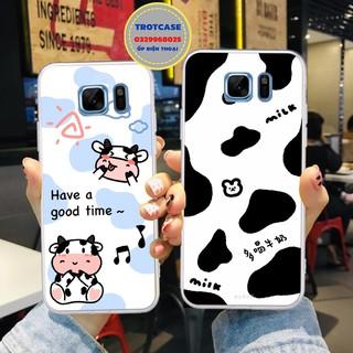 [ NEW ] Ốp lưng điện thoại Samsung Note Fe S6 S7 S6 Edge S7 Edge - ốp dẻo in hình bò sữa nhiều mã siêu đẹp thumbnail