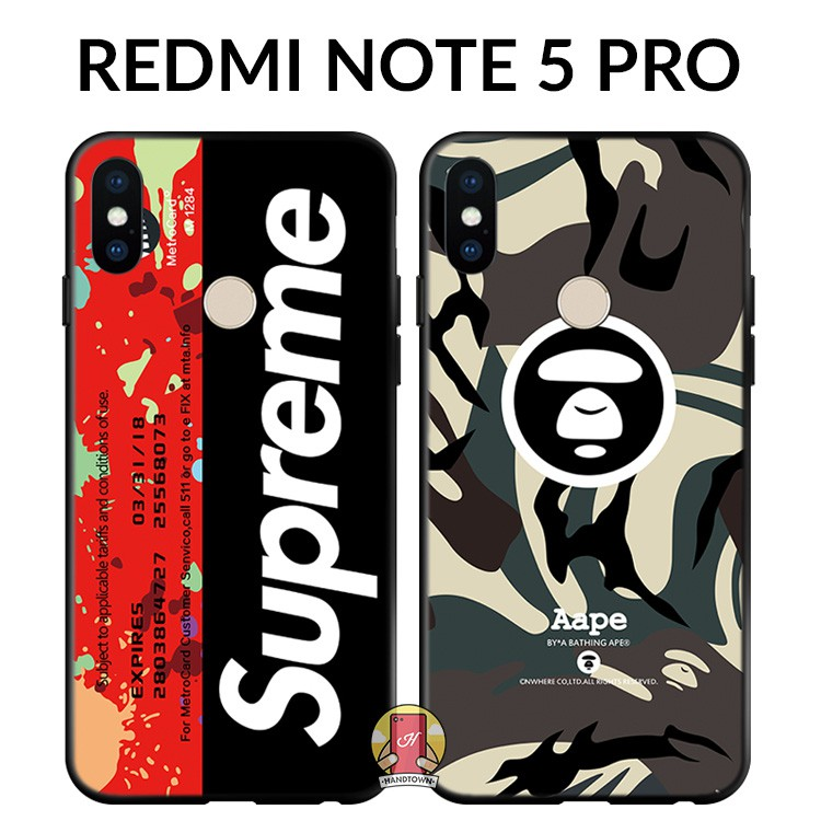 Xiaomi redmi note 5 pro | Ốp lưng xiaomi redmi note 5 pro dẻo hình aape