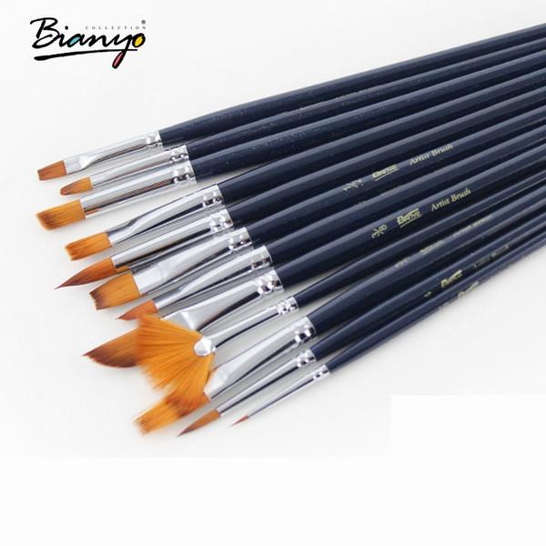 Bộ cọ Bianyo full 12 loại (Màu nước , Acrylic và Sơn dầu)