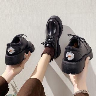 Giày HOA CÚC TRẮNG ulzzang hàn quốc có sẵn ảnh thật