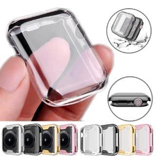 Ốp Tpu Trong Suốt Bảo Vệ Cho Đồng Hồ Apple Watch 5 4 3 2 1 42mm 38mm 40mm 44mm 360