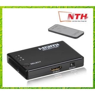 Hub 3 HDMI ra 1 HDMI (có remote) thumbnail