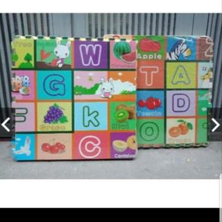 Thảm xốp ghép hình chữ số .hoa quả ( khổ 60×60 x1 cm)